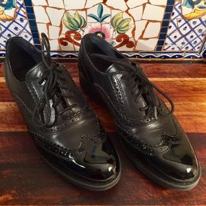 Rockport Alanda Derby Wingtip Patten Leather Shoes